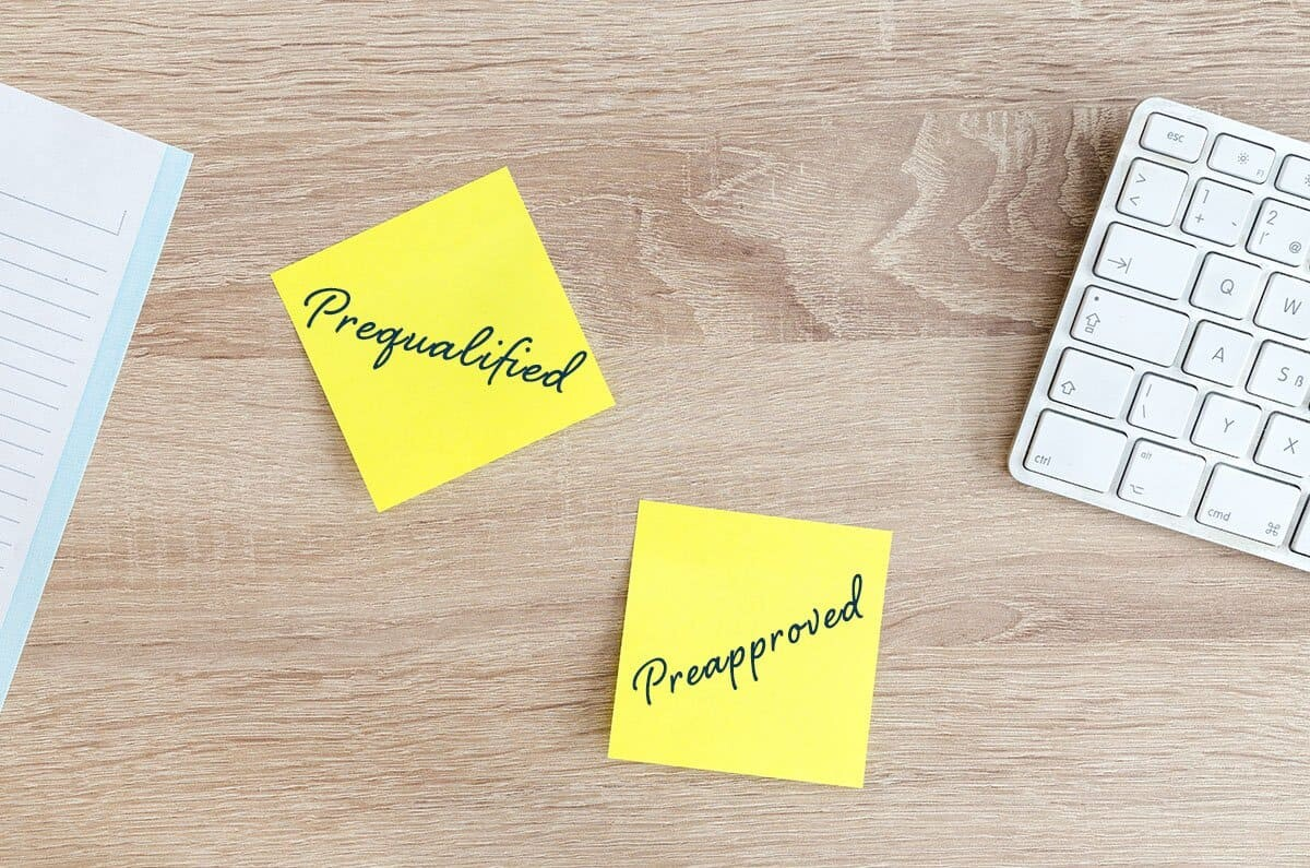 Difference between prequalified and preapproved