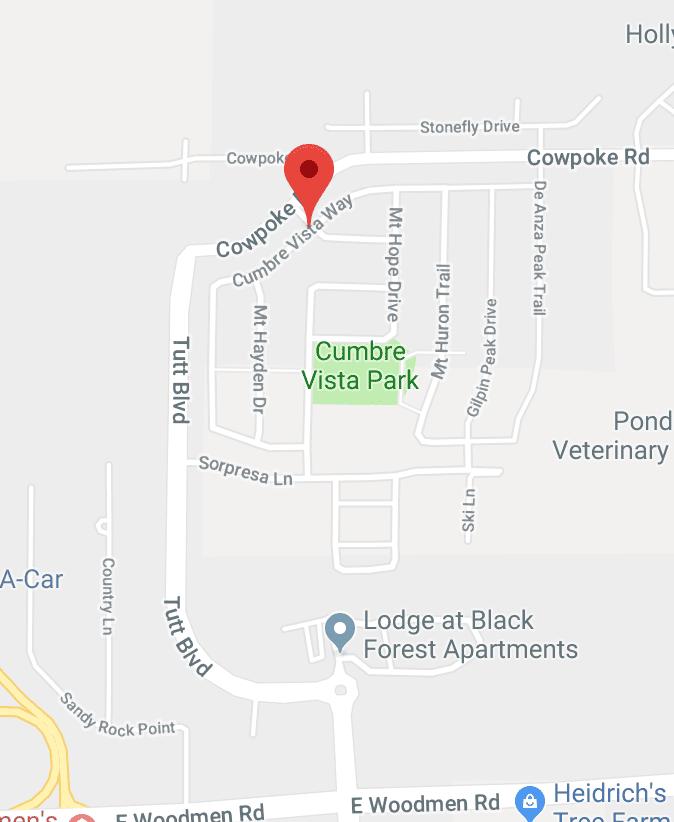 Cumbre Vista neighborhood