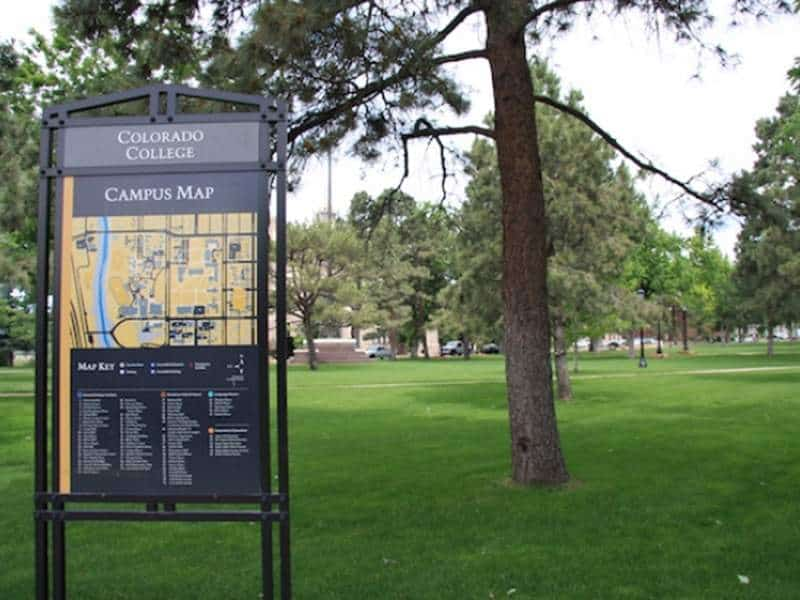 Colorado College in Downtown Colorado Springs