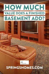 Value of Finished Basement