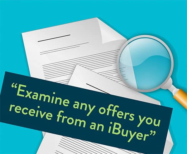 Examine iBuyer offers