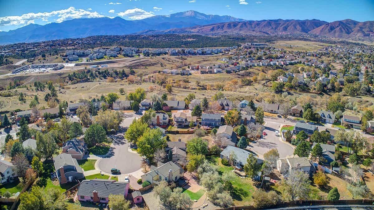 Northwest Colorado Springs homes for sale
